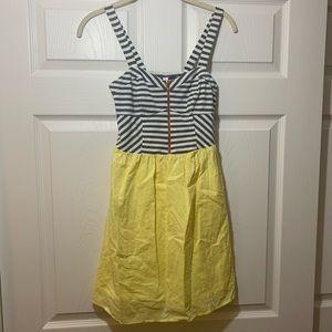 Xhilaration | Yellow | Striped | Dress